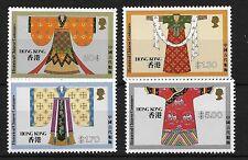 Hong kong, 1987 historic chinois costumes neuf sans charnière set,