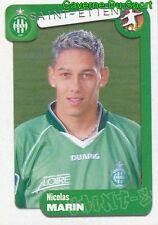 337 NICOLAS MARIN FRANCE AS.SAINT-ETIENNE FC.SION STICKER FOOT 2005 PANINI