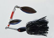 SHADOW STRIKE SPINNERBAIT SPINNER black fishing lure pike perch bass 20g (0.5oz)