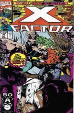 X-Factor Comic Issue 72 Copper Age First Print 1991 David Stroman Al Mildrom