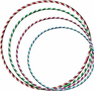 Multicolour Hula Hoops for Kids & Adults Fitness GLITTER Hula Hoop Abs Excercise