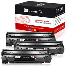 3Pk Remanufactured CB436A HP 36A Black for HP LaserJet P1505 P1505n 1505 M1522n