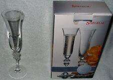 Spiegelau Sweetheart Groom's Crystal Champagne Flute Wedding Anniversary NEW