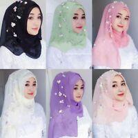 Fashion Rhinestone 1 piece Al Amira Muslim women One size Polyester Hijab