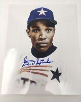 Scipio Spinks Signed 8x10 Photo Houston Astros Autographed Auto