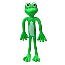 Bendy Frog Toy - Assorted Colour - Fun Flexible Plastic Children's Sensory Toy