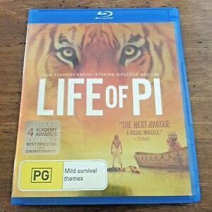 Life of Pi Blu-Ray RB Like New! – FREE POST