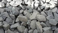 25 kg Basalt Splitt schwarz grau 70 - 160 mm Anthrazit - Basaltsplitt Schotter