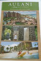 "Vintage Disney Aulani Hawaii 24"" x 36"" Resort Travel Collectible"