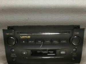 Radio Receiver CD Player 2006 06 LEXUS GS300 8612030D000CO