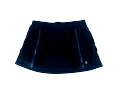 Athleta Womens Skirt Shorts Tennis Perforated  Blue Skort Size Medium M