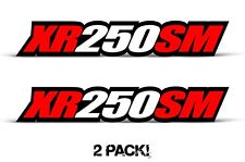 AMR Racing Honda XR 250SM Swingarm Graphic Kit Number Plate Decal Sticker Part