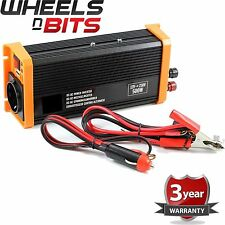 NEW 500W (1000W peak) High Quality power inverter 24v To 230v 240v 500 watt USB