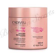 CADIVEU HAIR REMEDY DAMAGED HAIR 3D MAXX INJECTION HAIR REPAIR MASK 500ml