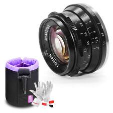 7artisans 35mm F1.2 Manual Focus Lens 9 Blades For M4/3 Mount Olympus Panasonic