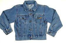 Awesome Vintage  80's 90's Jordache Ladies Jean Denim Jacket Jacket Size S-M