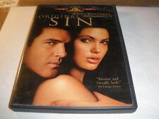 ORIGINAL SIN - ANTONIO BANDERAS, ANGELINA JOLIE DVD