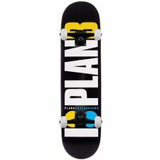 """Plan B Skateboards Team OG Neon Complete Skateboard Black 8.25"""""""