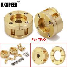 Outer Portal Drive Weight Brass Radgewicht & Schraube für TRX-4 1/10 RC Crawler