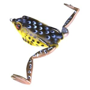 Outdoor Fishing Live Target Frog Lure 15g Snakehead Simulation Soft Artificial