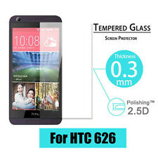 9H Premium Tempered Glass Screen Protector Film Guard Cover For HTC Desire 626