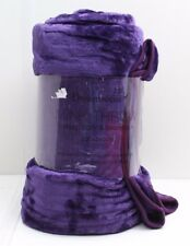 Dreamscene Soft Faux Fur Luxury Mink Throw Colour & Size Choice 200x240cm Aqua