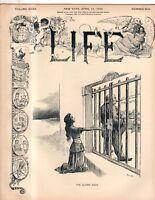 1900 Life April 12 - Porto Rico is shut out; Cuban orphans; Jews;Denver meanest?