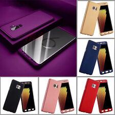 For Samsung S11 Note10 Hard Case Shockproof 360 Bumper Hybrid Phone Cover + Film