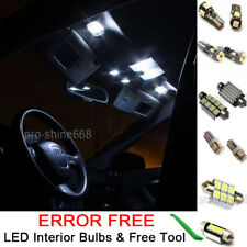 New Interior Car LED Bulbs Light KIT Package Xenon White 6000K For AUDI Q5 2008