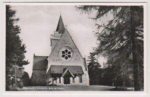 Aberdeenshire postcard - Crathie Church, Balmoral - (A28)