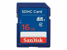 SanDisk SDHC Card Class 4 T Flash Memory 16gb