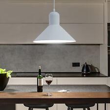 HOMCOM Industrial Ceiling Lamp Loft Pendant Light Metal Shade Dining