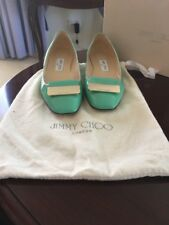 Jimmy Choo. Ballet Flats- Carlow Patent Leather - Peppermint 37.5