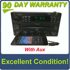 FORD AM FM Radio Stereo CD Player F150 Windstar Escape E150 ADDED AUX  INPUT