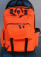 Blaze Neon Safety Orange Hunting Hiking School Camping Fishing Day Backpack