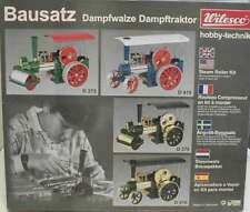 Wilesco D375 TOY STEAM ENGINE KIT OF ROLLER OLD SMOKEY, NEW +  FREE SHIPPING