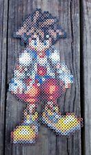Sora Kingdom Hearts Pixel Art Perler Bead Art
