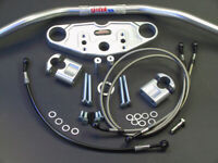 ABM Superbike Lenker-Kit Yamaha FZR 600 (3HE/3HF/3RG/3RG) | 89-94 | silber