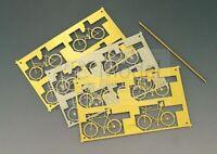 WEINERT 3235 - SET 4 Biciclette uomo e donna in scala H0. 4pz.
