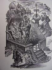 LA POÉSIE PRIAPIQUE AU XVIe SIÈCLE  Marcel Coulon bois originaux de Campion
