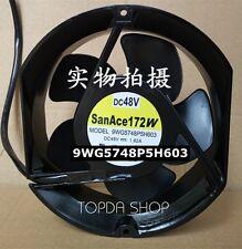 SANYO 9WG5748P5H603 Waterproof cooling fan DC48V 1.62A 17251 17CM