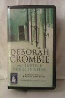 And Justice There is None: D Crombie: Unabridged Cassette Narr Jenny Sterlin