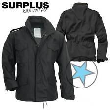 SURPLUS Raw Vintage M65 TROOPER Feldjacke Army Herren Jacke schwarz XL