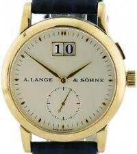A. Lange & Söhne Saxonia 750/18k Gold Großdatum Ref.105.022 mit Box Top Zustand