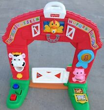 Fisher Price Laugh And Learn Learning Crawl Through Farm Barn
