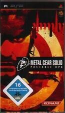 Playstation Sony PSP METAL GEAR SOLID PORTABLE OPS *NEU