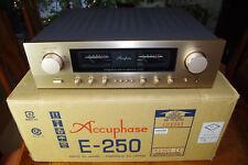 Accuphase E-250 ,  incl.Fernbed.,P.I.A. OVP  HighEnd Stereo VerstärkerTOPP !!
