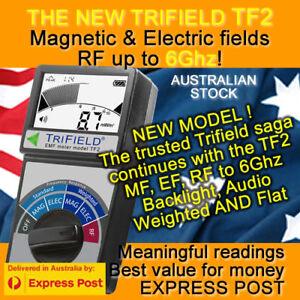 NEW Trifield EMF Gauss Meter TF2 !!! The 100XE Legend renewed - Oz Seller
