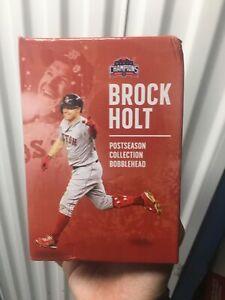 2019 Boston Red Sox Brock Holt Post Season Bobblehead SGA World Series
