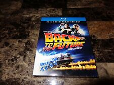 Back To The Future RARE Bob Gale Signed 25th Anniversary Blu-Ray Movie Box Set